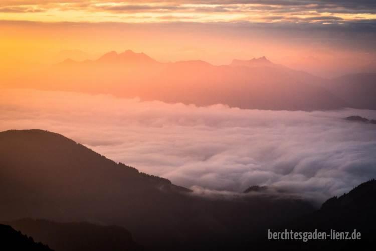 Morgenstimmung im Pinzgau