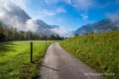 Parallel zur Landesstraße geht's ins Fuscher Tal