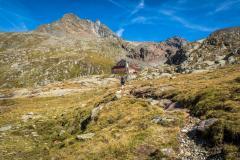 Letzter Anstieg zur Elberfelder Hütte