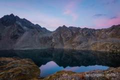 Morgendämmerung am Wangenitzsee