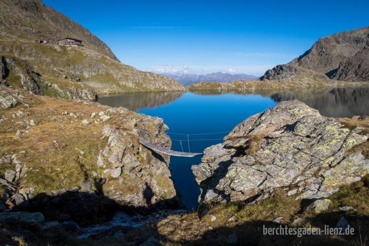 Hängebrücke am Wangenitzsee